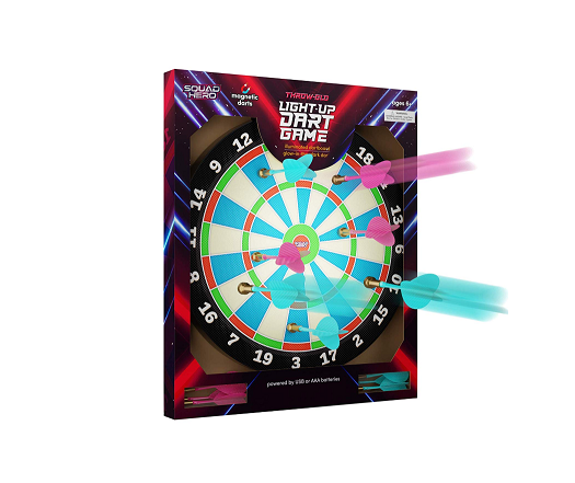 Light-up Magnetic Dart Board Game