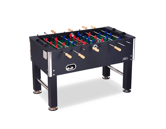 "Kick Triumph 55"" In Black Foosball Table"