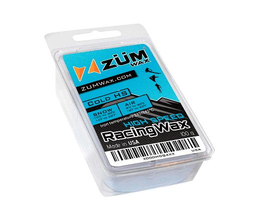 ZUMWax HIGH Fluoro Ski/Snowboard Racing Wax
