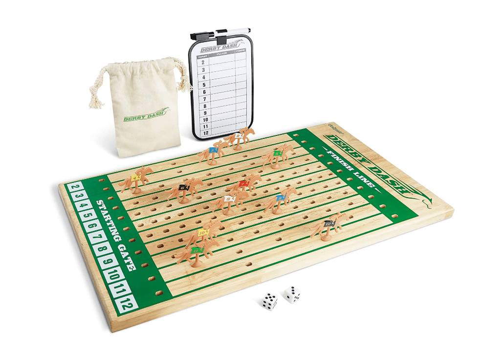GoSports Derby Dash Horse Race Game Set