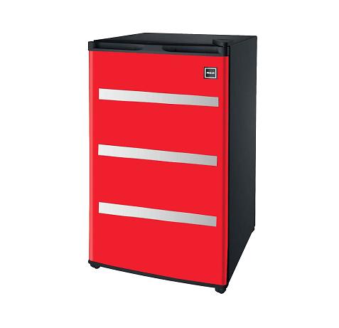 RFR329-Red Garage Fridge Tool Box