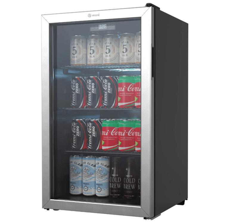 Vremi Mini Beverage Refrigerator and Cooler