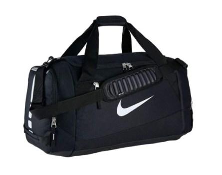 Nike Hoops Elite Team Black Duffel Bag
