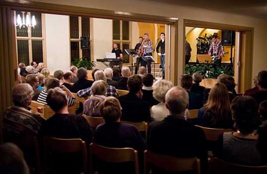 Konsert med Simon och Jonas