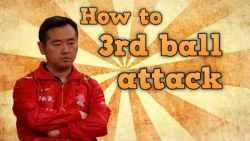 Third Ball Attack in Table Tennis