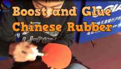Use Booster, Speed Glue, Tuner in Table Tennis