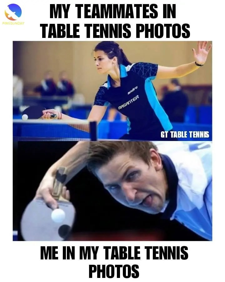 Best Table Tennis Jokes Funny Memes Pingsunday