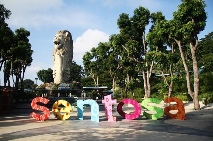 國外‧新加坡|集結五星飯店、海灘、環球影城、海洋館的聖淘沙《名勝世界》