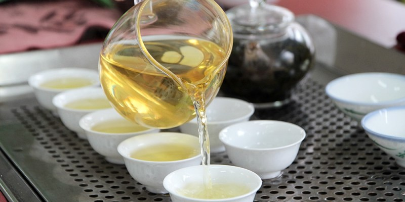 雲林古坑景點 阿安師茗茶 阿里山高山茶 精美三角立體茶包原味呈現