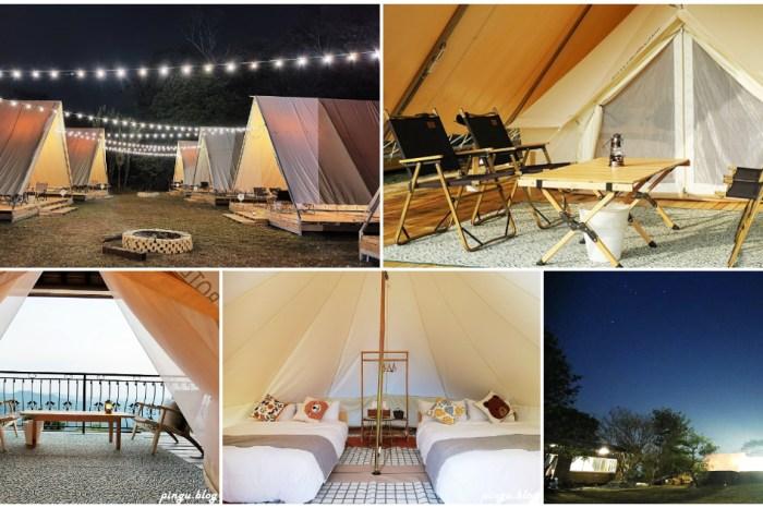 台中住宿 蟬說山中靜靜 一泊二食豪華露營 全包式懶人露營好放鬆