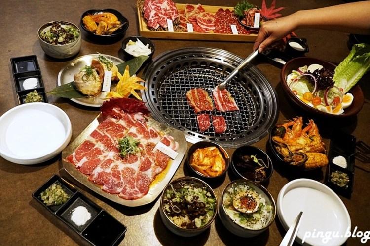 台中美食|龍門燒肉 特色貨櫃屋享用日本A5和牛 海底三千呎
