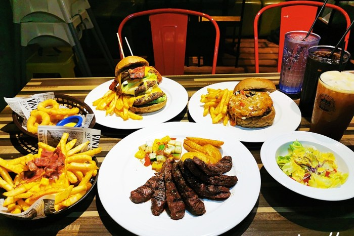 史丹貓美式餐廳 西門店|Stan & Cat 台北美式漢堡推薦 早午餐大份量客製化漢堡