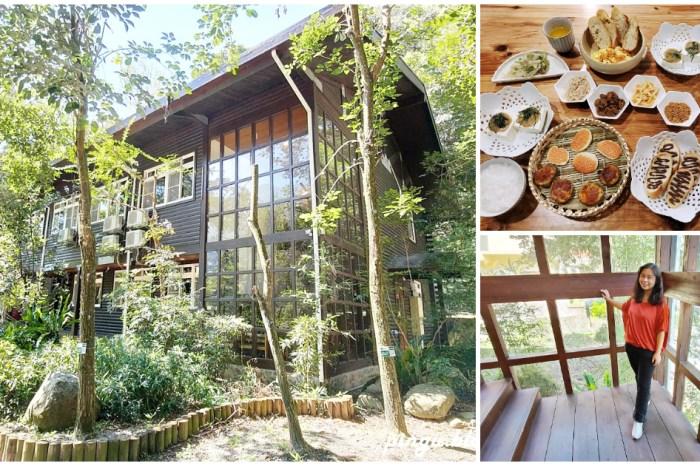 蟬說:和社山林|南投信義鄉住宿推薦 在森林中享受玻璃樓房與桌袱料理帶來的心靈沉靜