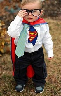 Oui, Clark Kent a déjà été un bébé...