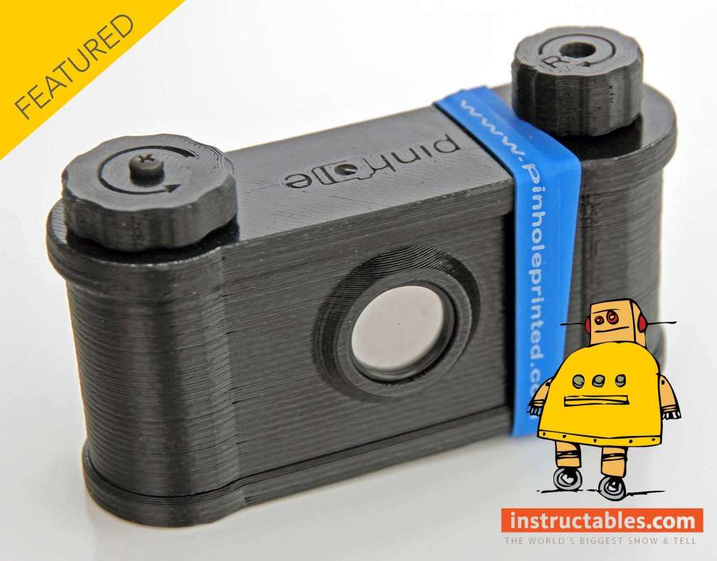 Easy 35 pinhole camera (featured on instructables)