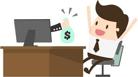 Uždarbis internetu neinvestuojant nė cento