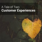 A tale of two customer experiences