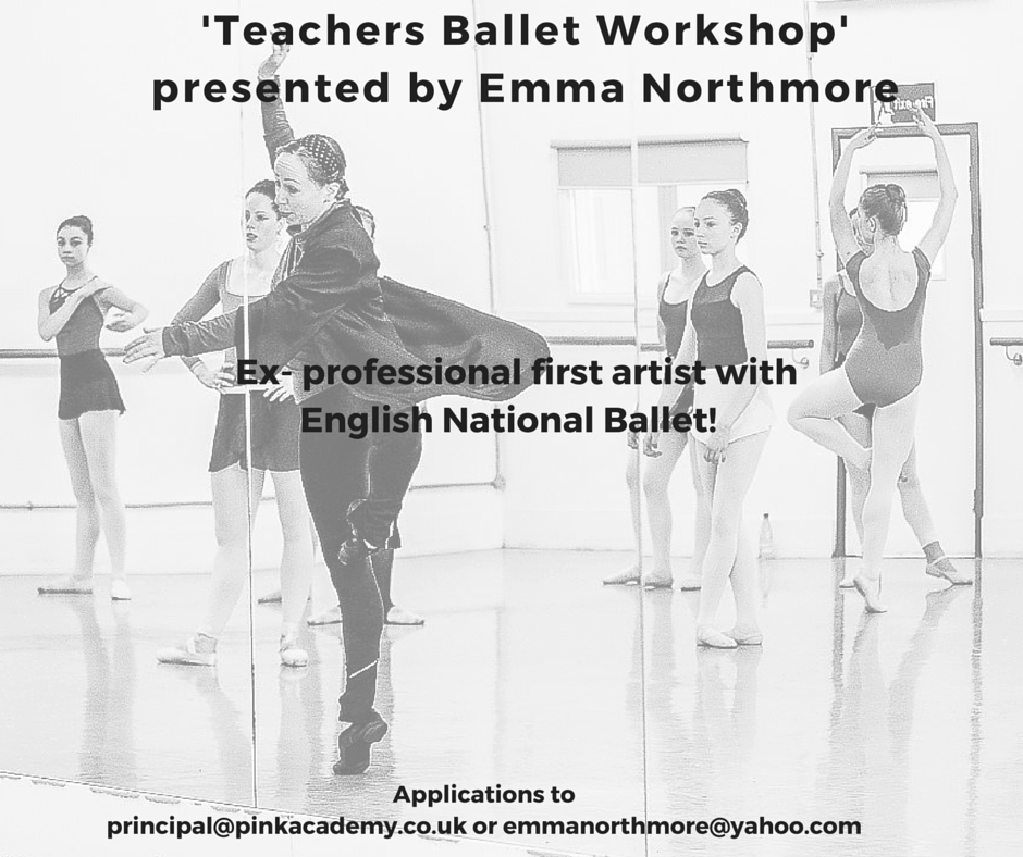 'Teachers Ballet Workshop' presented by Emma Northmore