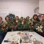 NATURAL CHRISTMAS DOOR WREATH WORKSHOP