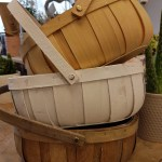 GREEN & WHITE COUNTRY TRUG – 3 trug colours