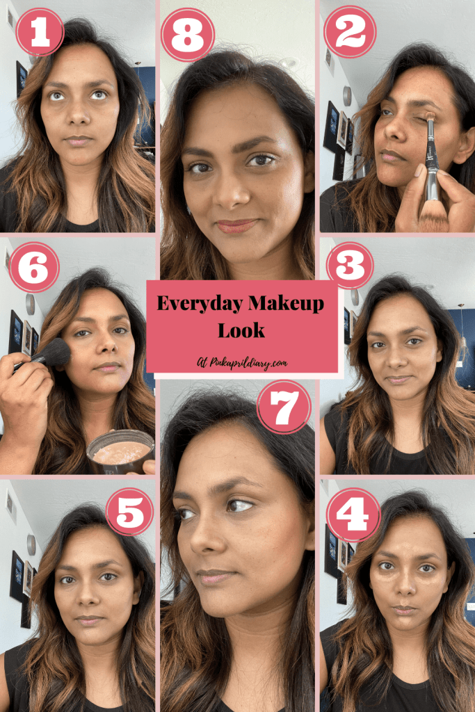 Everyday Makeup Look Without Foundation
