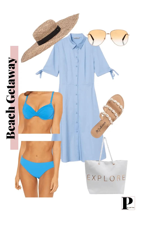 Weekend Vacation - Beach getaway - Outfit 1