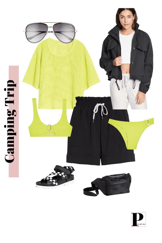 Weekend Getaway - Camping - Outfit 1