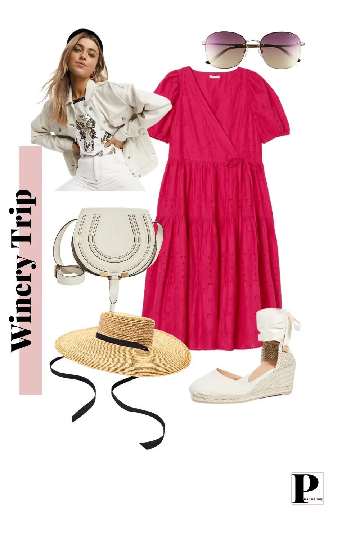 Weekend Getaway - Winery - Outfit 1