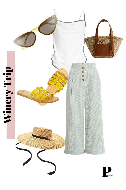 Weekend Getaway - Winery - Outfit 3