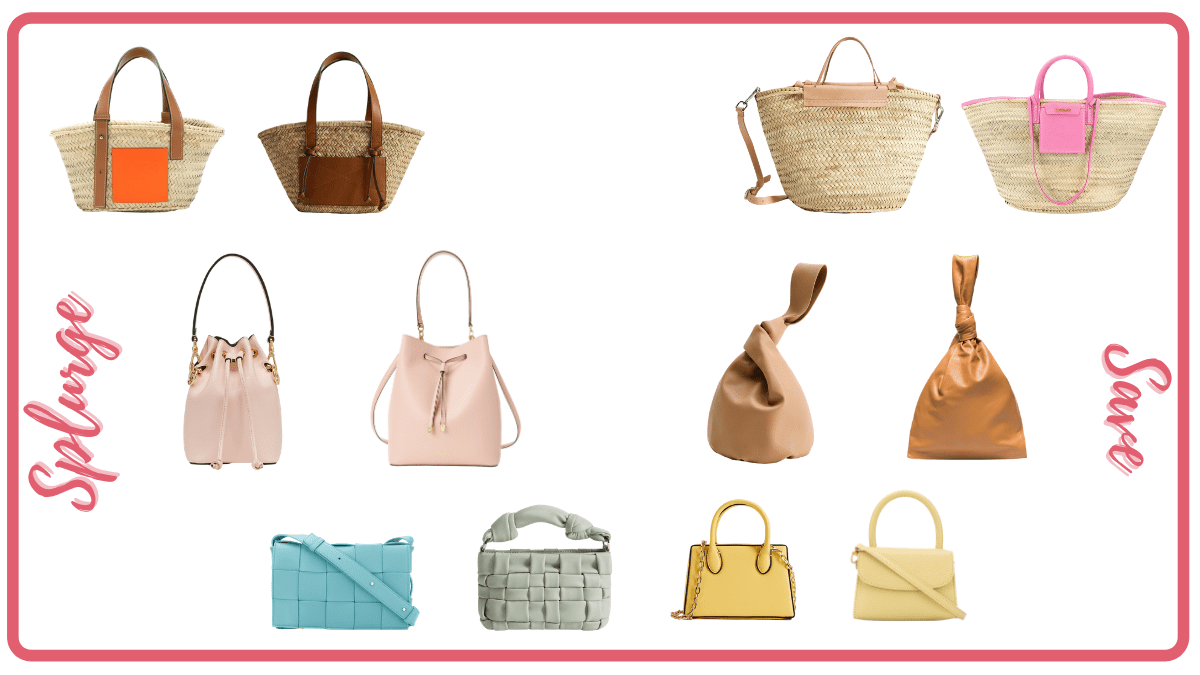 Summer Splurge Vs Save: Handbag Edition