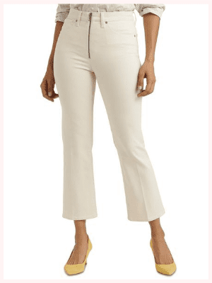 Lucky Brand Bridgette High-Rise Mini Bootcut Crop Jean