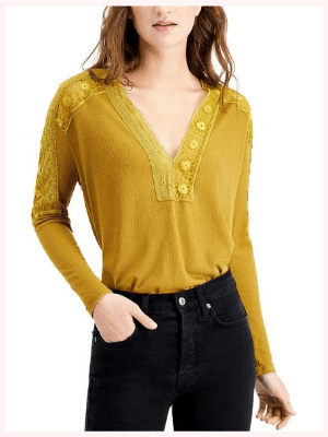 Free People Lola Long-Sleeve T-Shirt