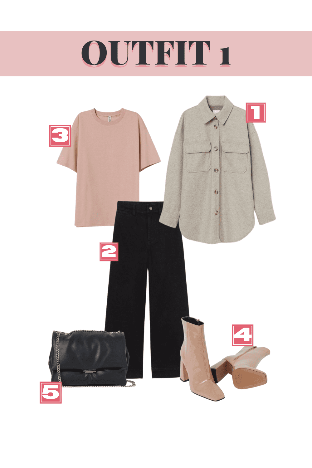 H&M Fall Top Picks - Outfit 1