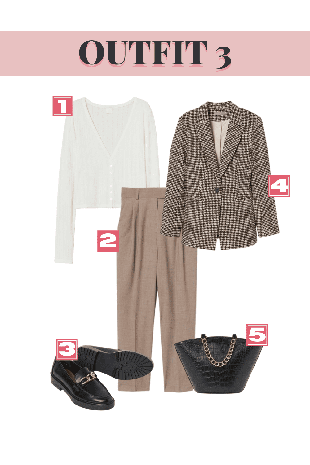 H&M Fall Top Picks - Outfit 3