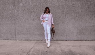 How To Wear All White For Fall & Winter - Header Image