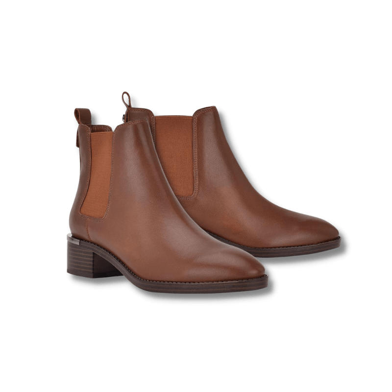 Calvin Klein Brown Chelsea Boots