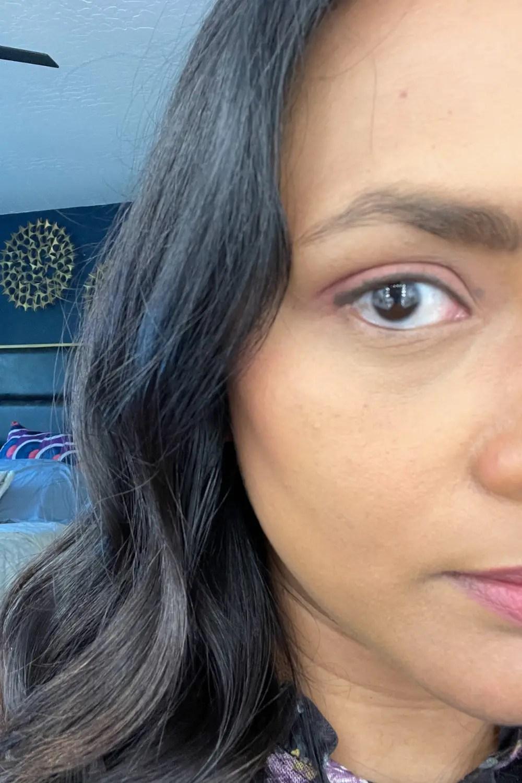 Finished Eye makeup without Mascara