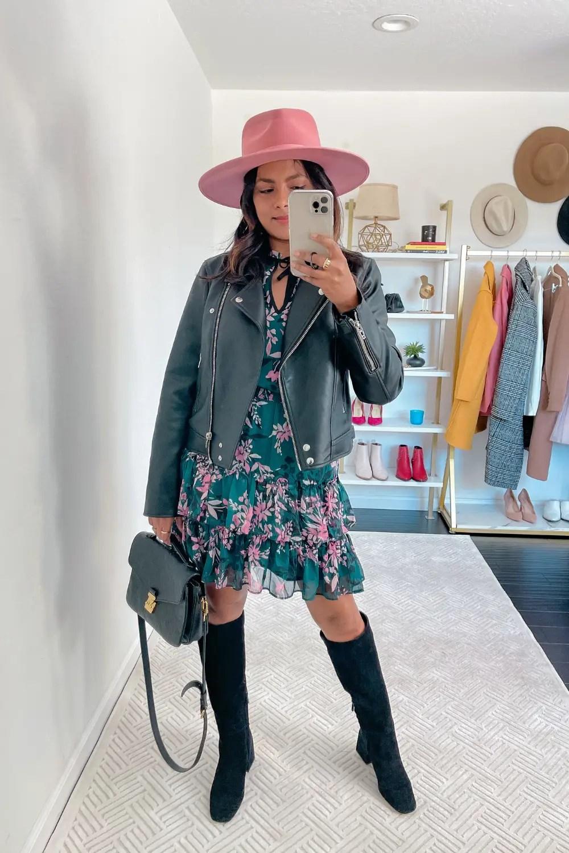 Boho Chic Fall Layering Outfit