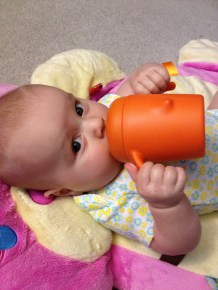 First sippy cup