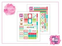 PBTT Folk Tale Sticker Kit Digital Two Page