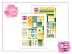 PBTT Sunflower Summer Sticker Kit Two Page