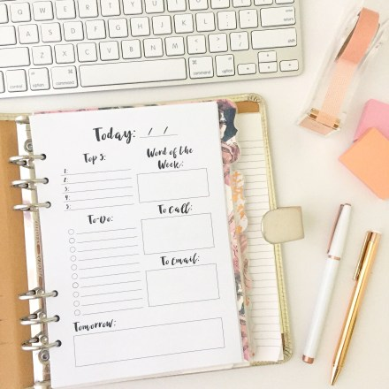 A5, A5 planner, daily, daily to-do, free, free printable, freebie, goals, list, mini binder, mini happy planner, monthly, monthly goals, monthly to-do list, monthly to-dos, planner printables, planning, printable, printable series, Printables, productivity, productivity printable,