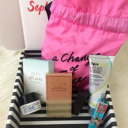 PLAY! By Sephora Review: September 2017 - Pink Bows & Twinkle Toes