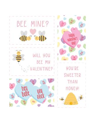 PBTT Printable Valentines