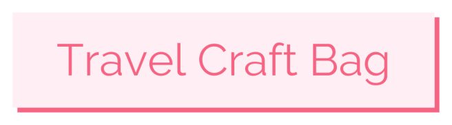 Travel Lettering Supplies - Pink Bows & Twinkle Toes