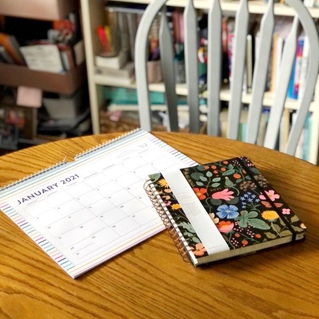 Favorite Calendar and Planner 2021 - Pink Bows & Twinkle Toes