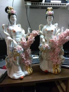 Porcelain Geisha Girls