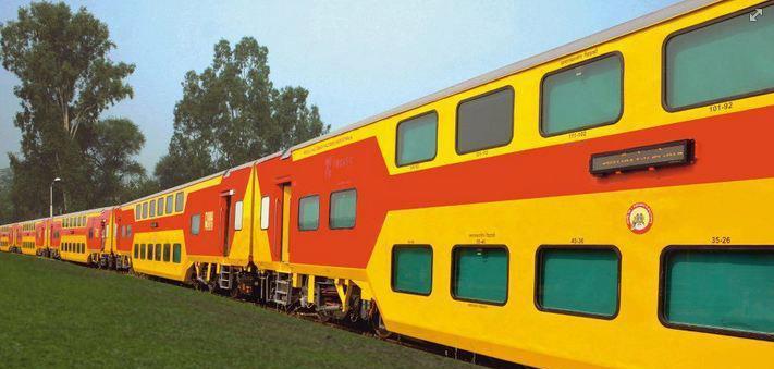 double decar train