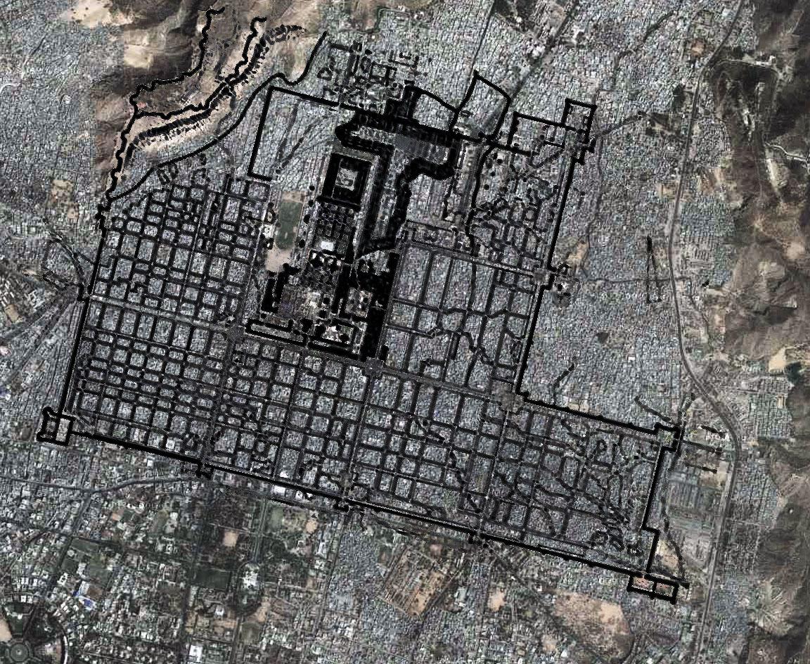 jaipur-map-and-overlay vaastu se 9 bloks
