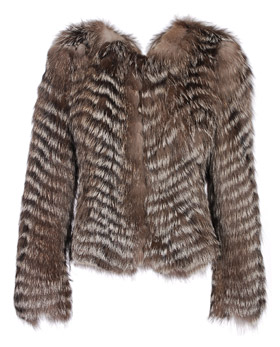 Burberry Fur Jacket
